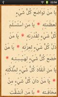 Screenshot of Mobil Cevşen