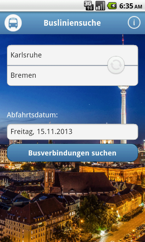 BusLS - screenshot