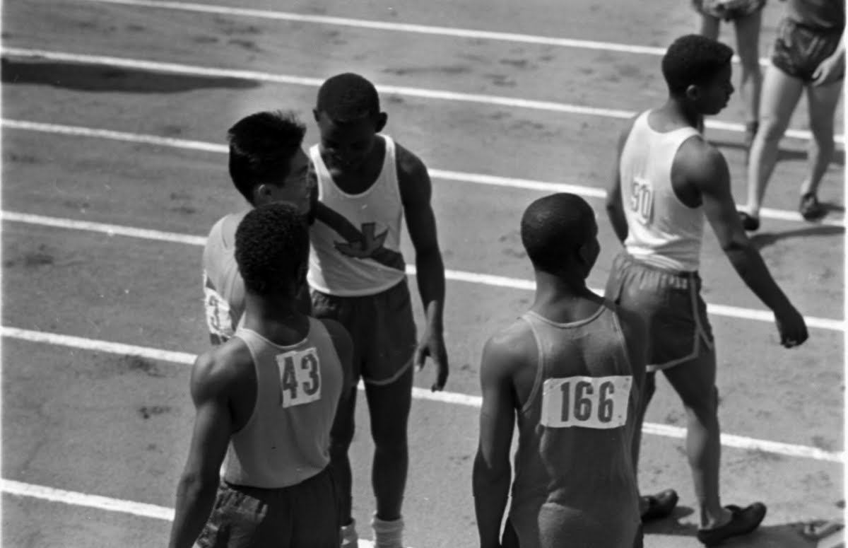Jefferson H. S. Track Team, L.A.
