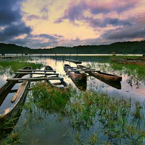 Rest in SIlence by Kadek Jaya - Landscapes Prairies, Meadows & Fields ( water, sky, traditional, lake, classic )