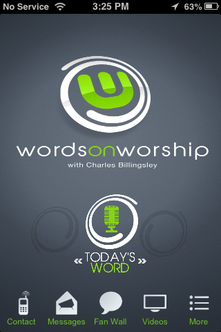 Words on Worship- screenshot