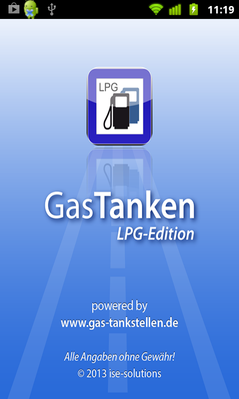 GasTanken LPG-Edition – Screenshot