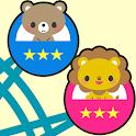 知育無料アプリ こども観覧車 赤ちゃん・幼児・こども向け icon