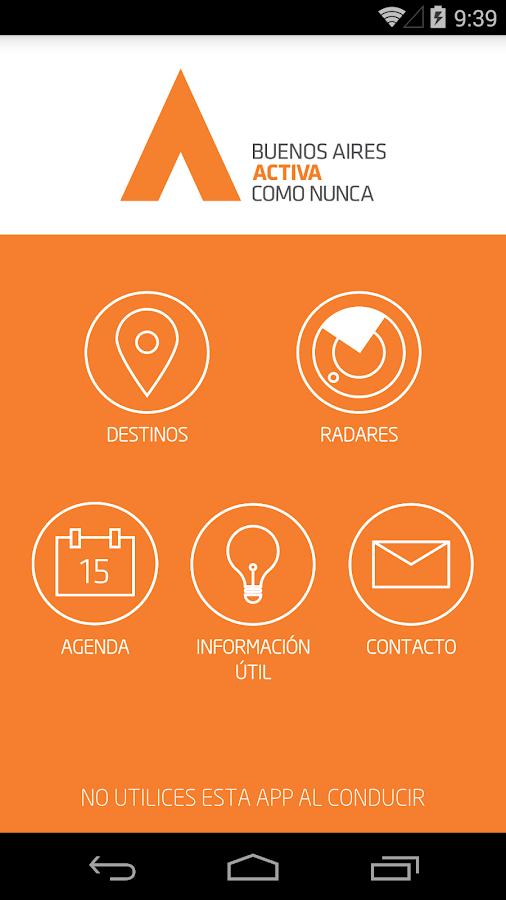BA Activa- screenshot