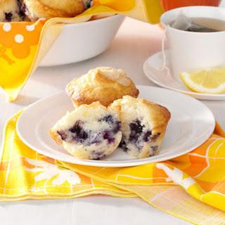 Sour Cream Blueberry Muffins.