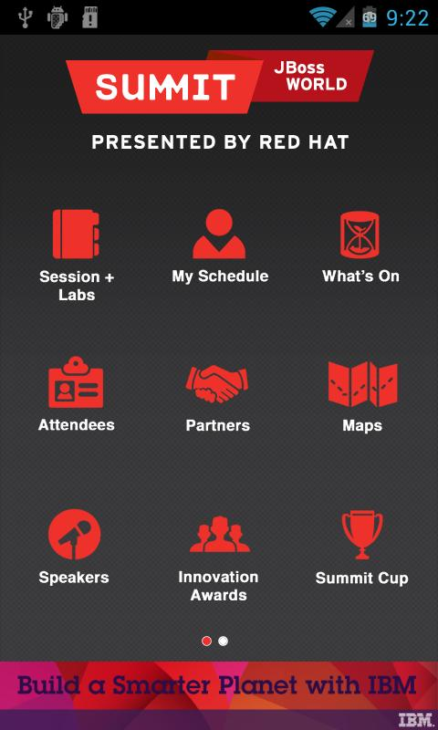Red Hat Summit 2012 - screenshot