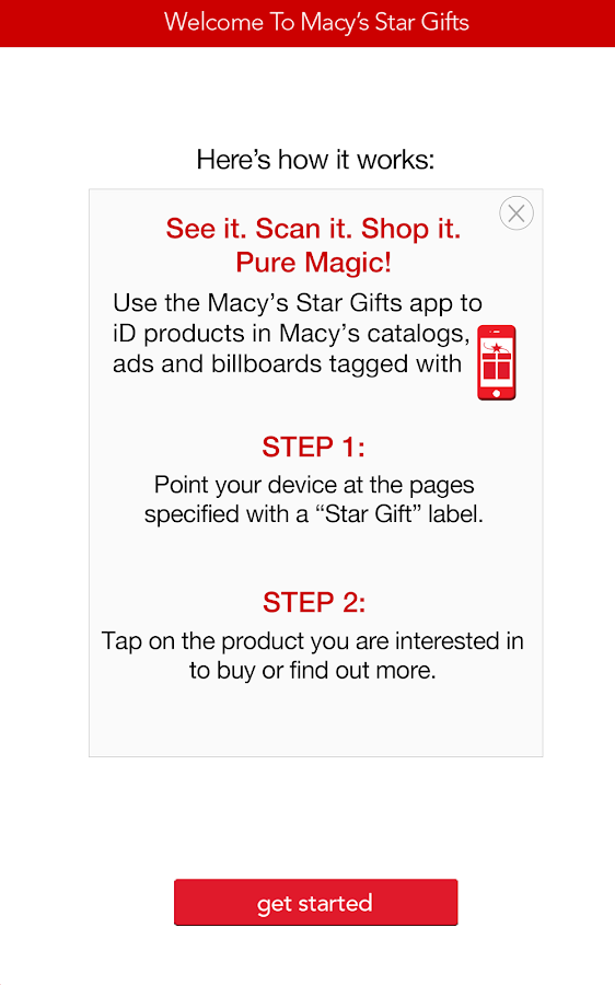 Macy's Star Gifts - screenshot