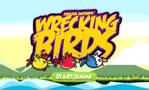 Wrecking Birds Shooting Game!- screenshot thumbnail