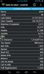 Tribes Ascend Stats - screenshot thumbnail
