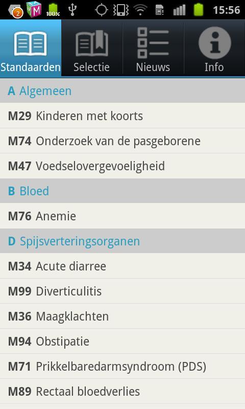 NHG Standaarden- screenshot