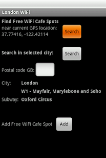 London Free WiFi- screenshot thumbnail