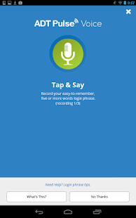 ADT Pulse ® Voice - screenshot thumbnail