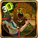 Safari Wild Lion Sniper Hunter icon