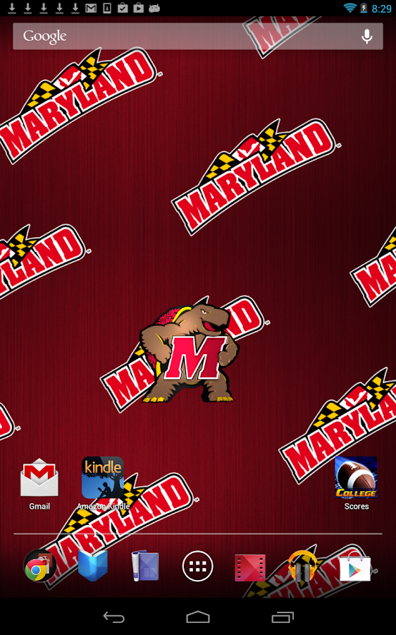 Maryland Terps Live Wallpaper - screenshot