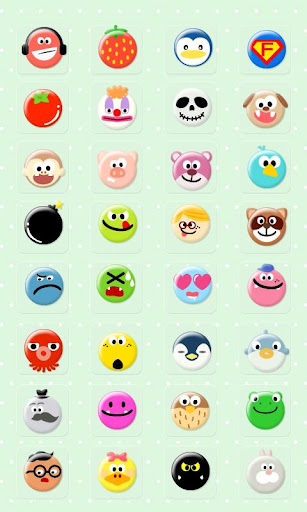 CUKI Theme Funny Face Icon