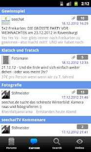 seechat.de BODENSEE COMMUNITY- screenshot thumbnail