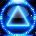 3D glow magic clock widget