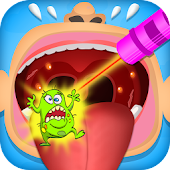 Throat Doctor - Clinic Games