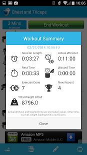 JEFIT Workout Exercise Trainer - screenshot thumbnail