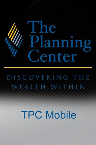 The Planning Center - screenshot