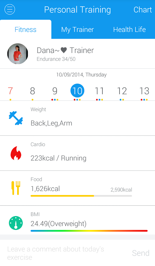Fitrainer,Diet,Health,Fitness- screenshot