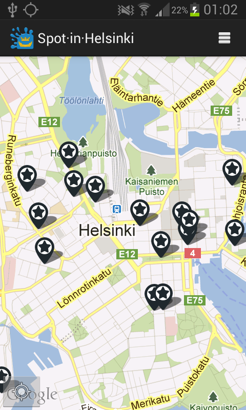 Spot in Helsinki- screenshot