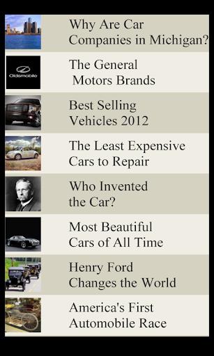 Car Lists