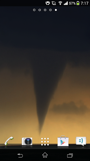 Tornado HD Live Wallpaper