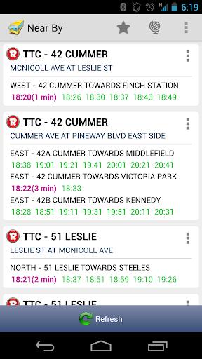 Toronto - Next Bus GTA