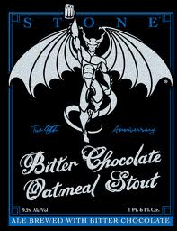 Logo of Stone 12th Anniversary Bitter Chocolate Oatmeal Stout