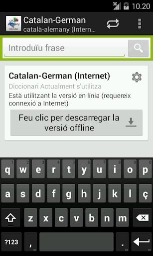 Català-Alemany Diccionari