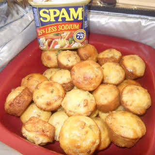 Southwest Corn And Spam Muffins.