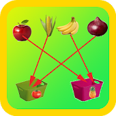 Kids Fruits Sorting Game