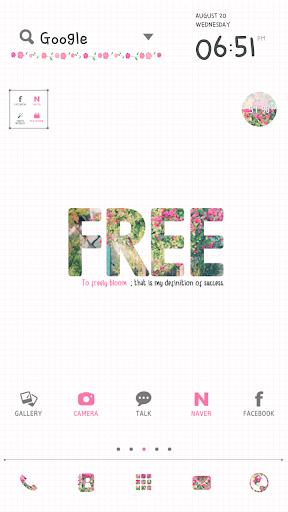 Freely dodol launcher theme