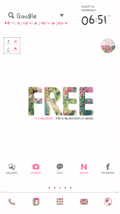 Freely dodol launcher theme