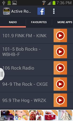 Active Rock Music Radio