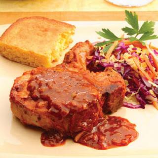 Oven-Barbecued Pork Chops.