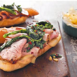 Italian Grilled Pork Sandwiches.