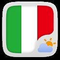 Italy Language GOWeatherEX icon