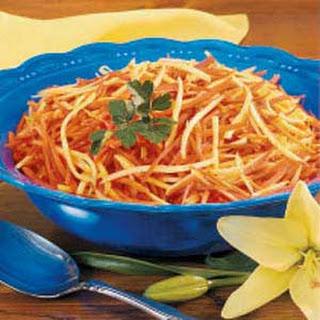 Carrot Parsnip Stir-Fry