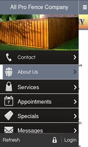 【免費商業App】All Pro Fence Company-APP點子