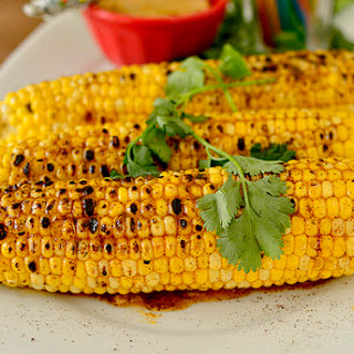 Grilled Sweet Corn with Chili-Lime Honey Butter