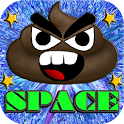 Angry Poo Space icon
