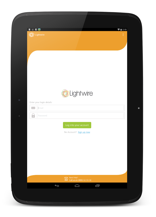 Lightwire BETA- screenshot