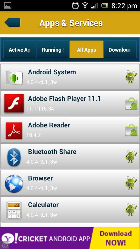 Toolkit For Android - screenshot