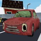 Cartoon car parking 3D two icon