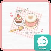 달콤한오후 카카오톡 테마