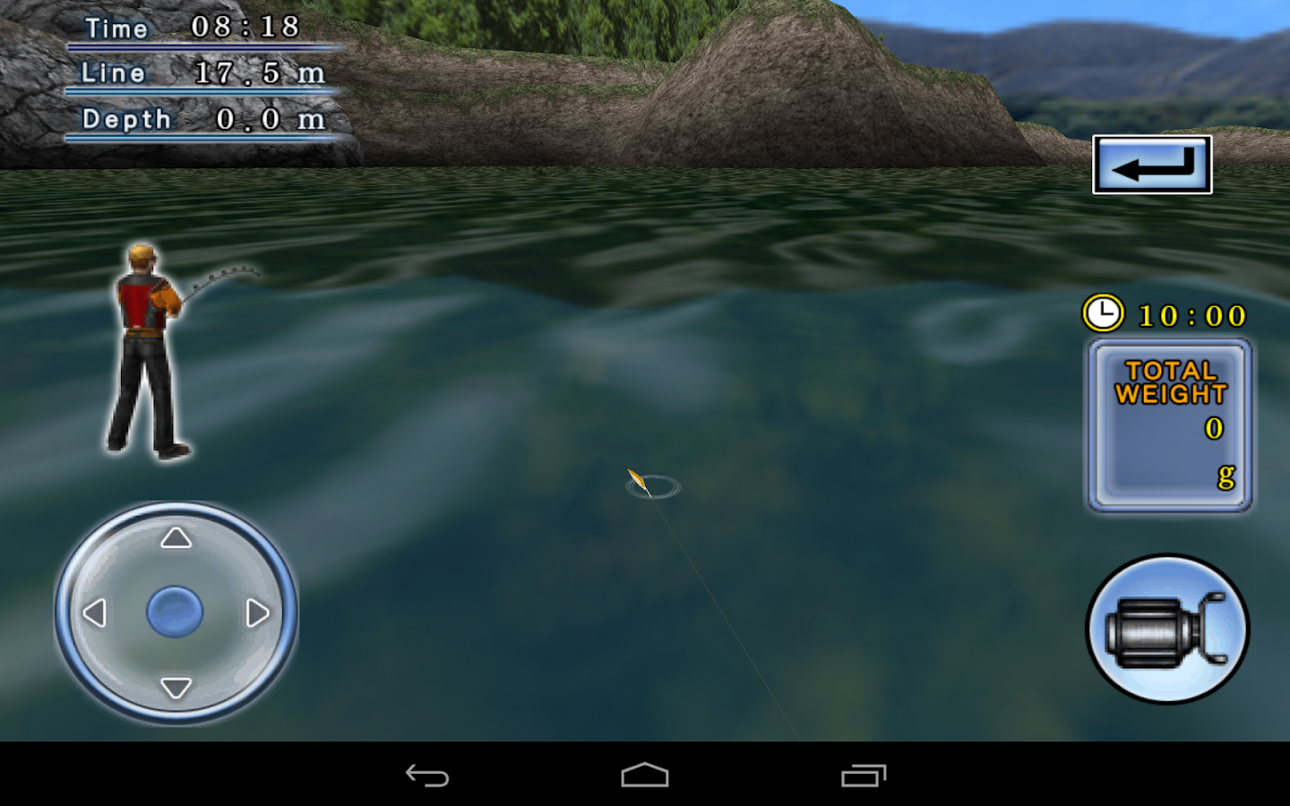 Bass Fishing 3D on the Boat - screenshot