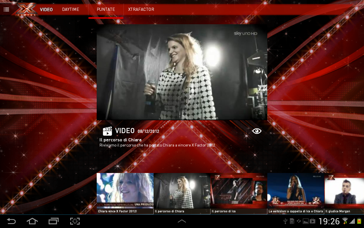 X Factor 2013 - screenshot