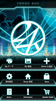 Screenshot of 24karats-LASER Theme